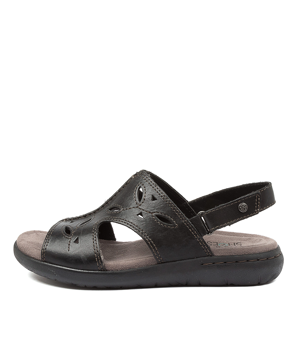 Buy Planet Mandy Pl Black Flat Sandals online with free shipping