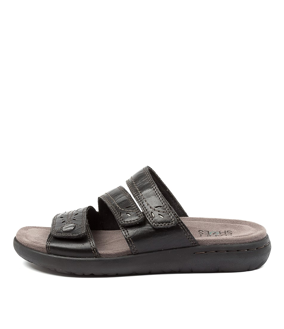 Buy Planet Mindi Pl Black Flat Sandals online with free shipping