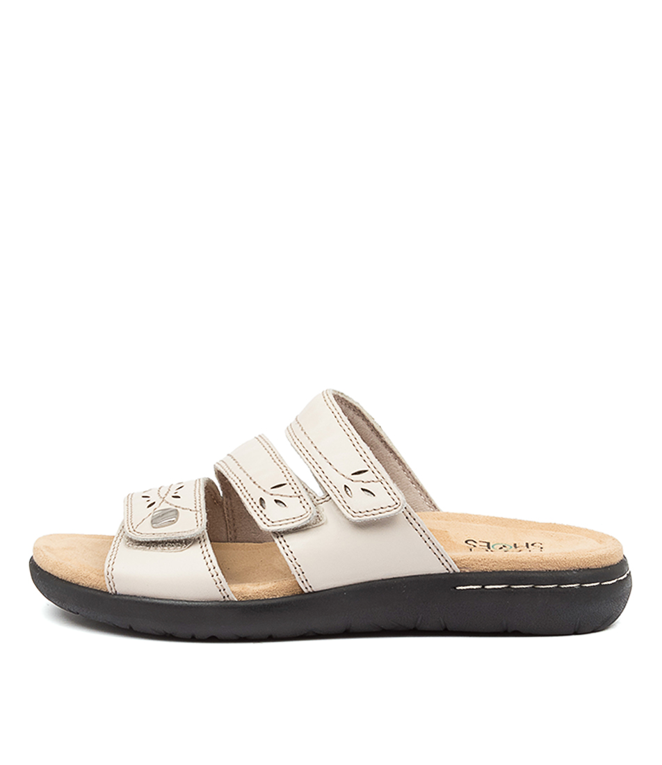 Buy Planet Mindi Pl White Flat Sandals online with free shipping