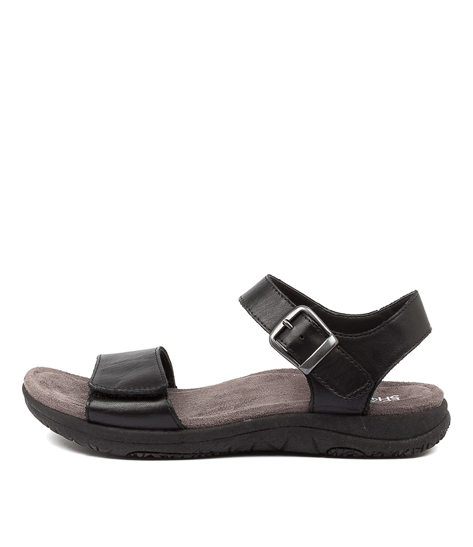 Buy Planet Lord Pl Black Flat Sandals online with free shipping
