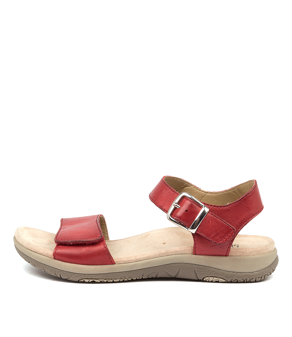 Buy Planet Lord Pl Red Flat Sandals online with free shipping