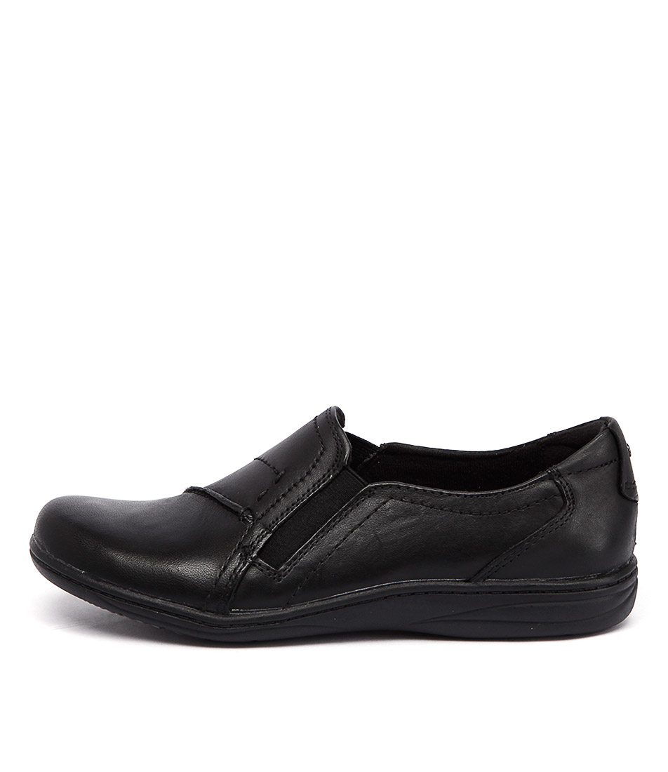 Planet Jemima Black Flat Shoes