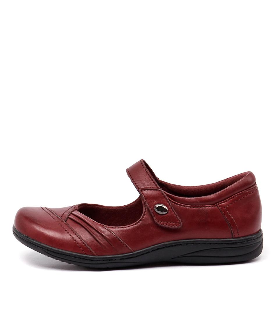 Planet Jamie Bordeaux Casual Flat Shoes