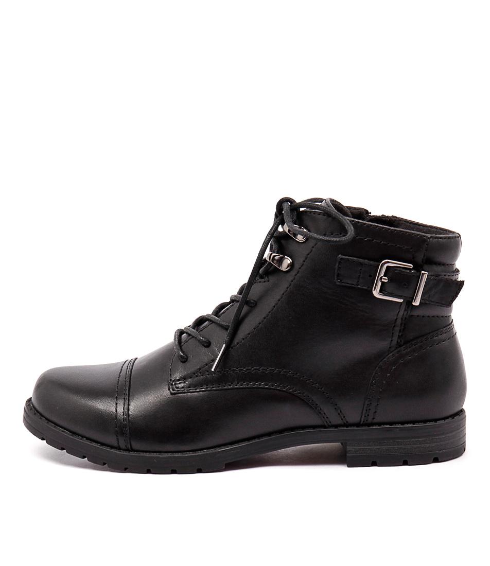 Planet Deka 2 Black Boots