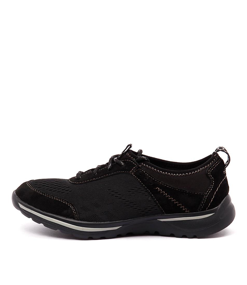 Planet Kaitlin Black Sneakers