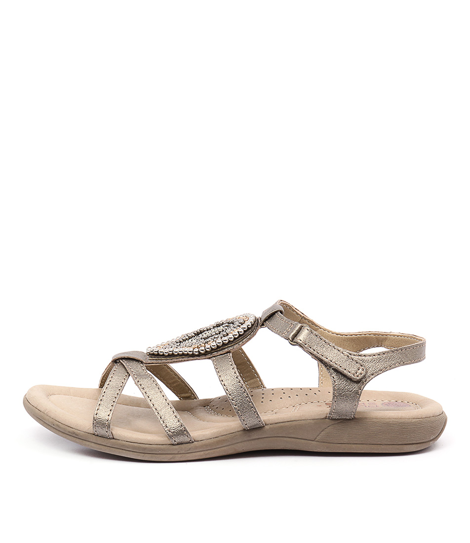 Planet Casia Platinum Sandals