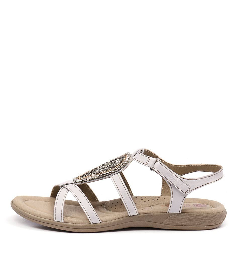 Planet Casia White Sandals