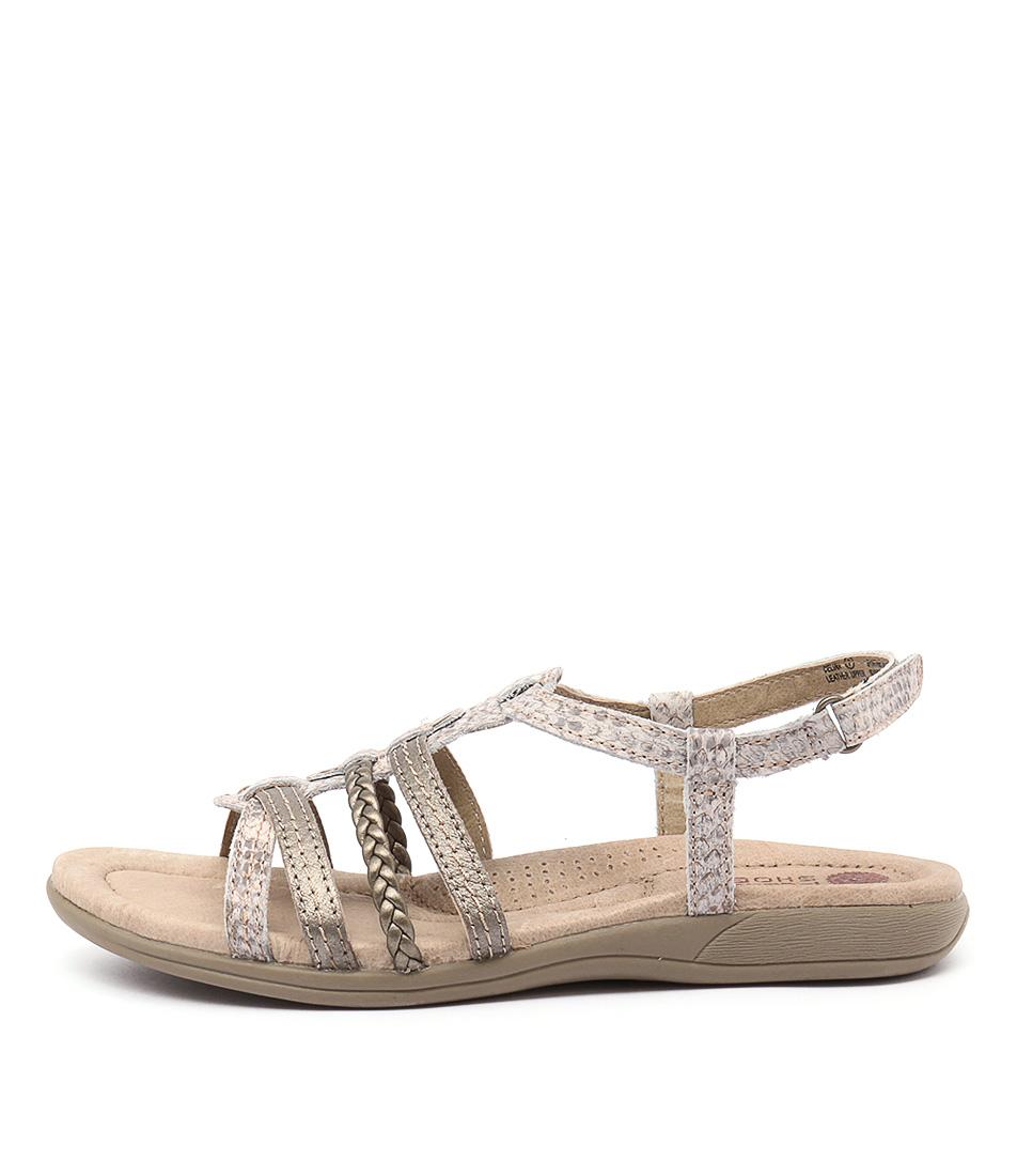 Planet Celina Snake Flat Sandals