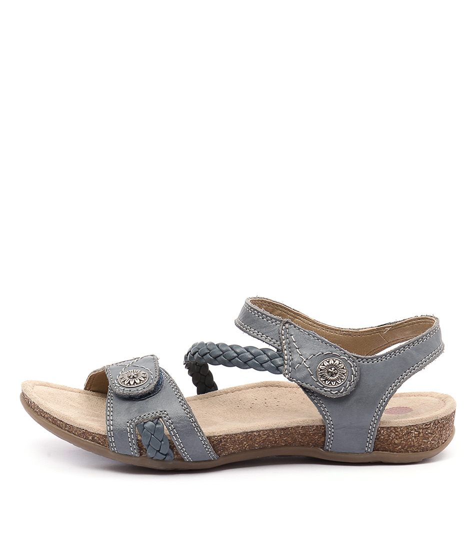 Planet Alexia Blue Casual Flat Sandals