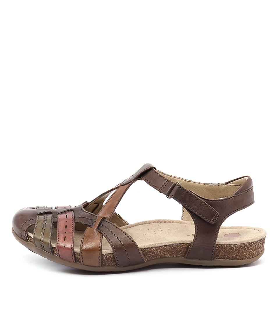 Planet Ariel Pl Brown Sandals
