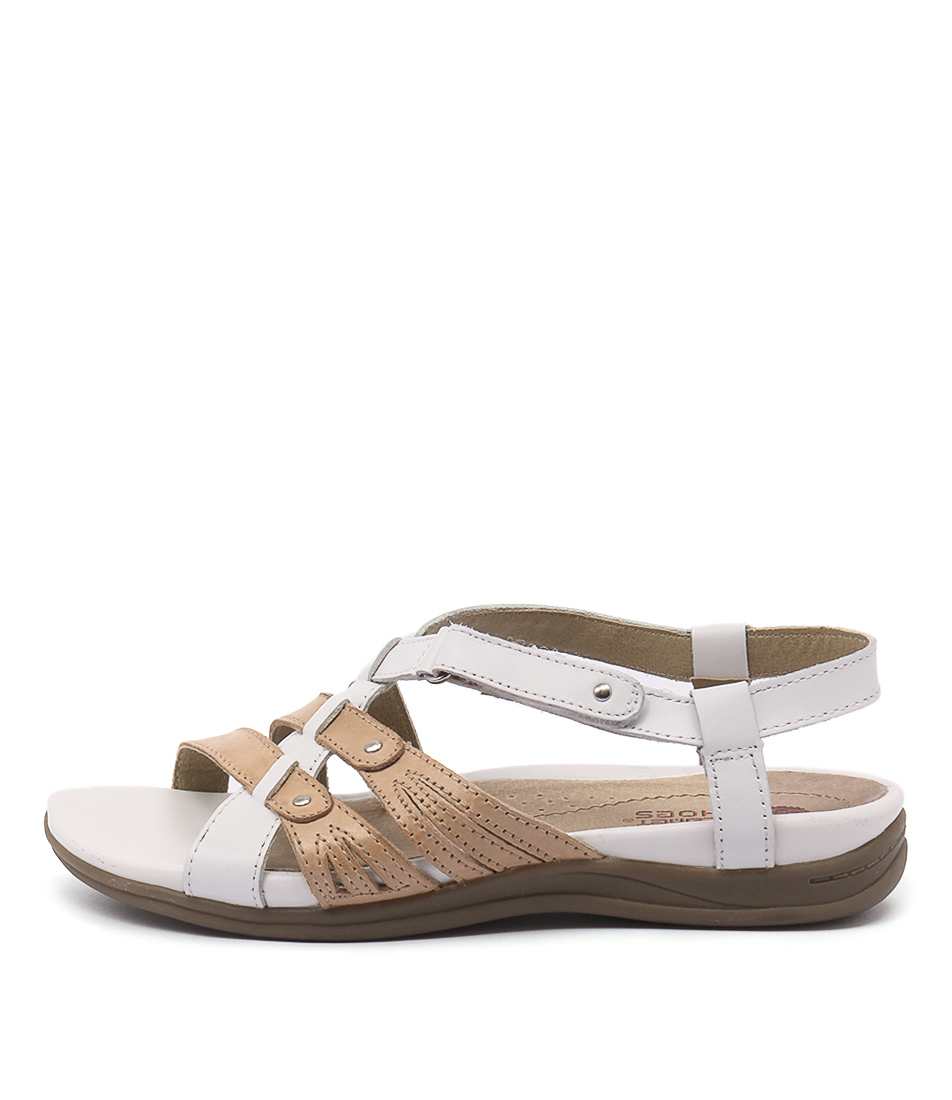 Planet Iris White Sand Sandals