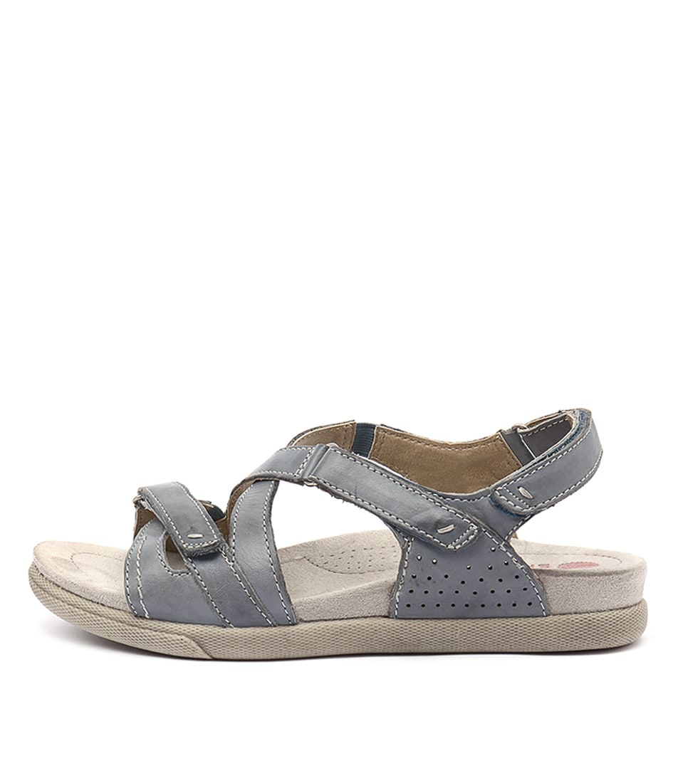Planet Fe Blue Casual Flat Sandals