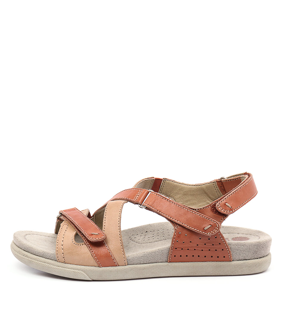 Planet Fe Henna Casual Flat Sandals