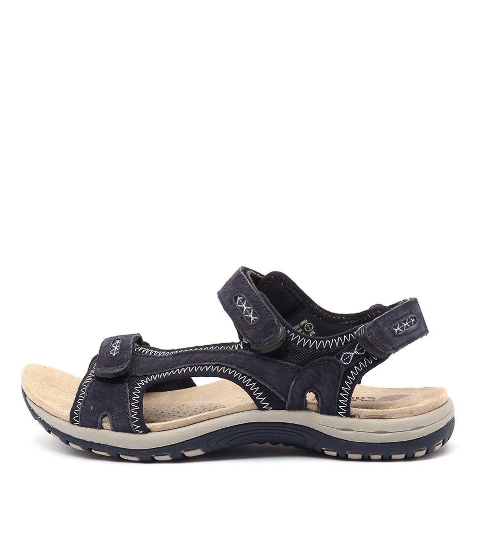 Planet Jessica Pl Navy Casual Flat Sandals