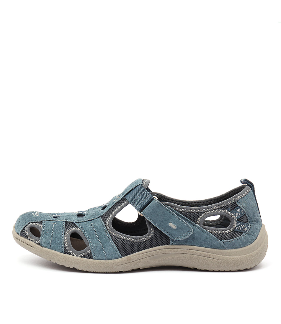 Planet Monica Blue Casual Flat Shoes