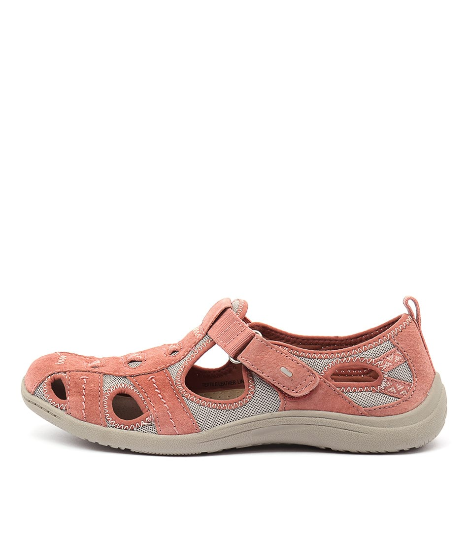 Planet Monica Coral Flat Shoes