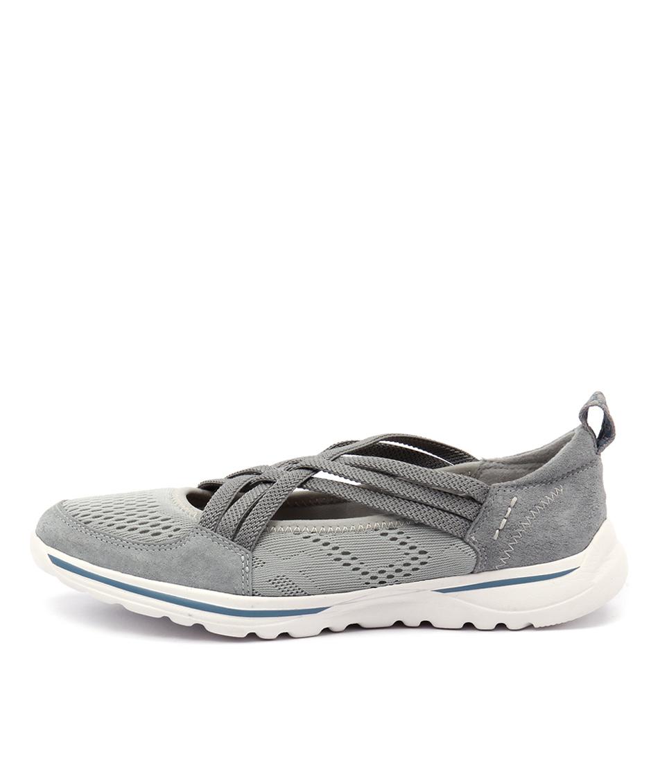 Planet Keera Pl Grey Casual Flat Shoes