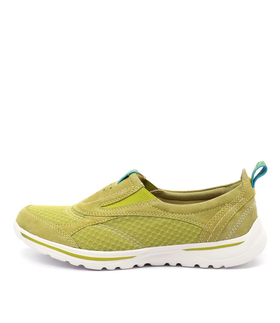 Planet Kensi Green Sneakers