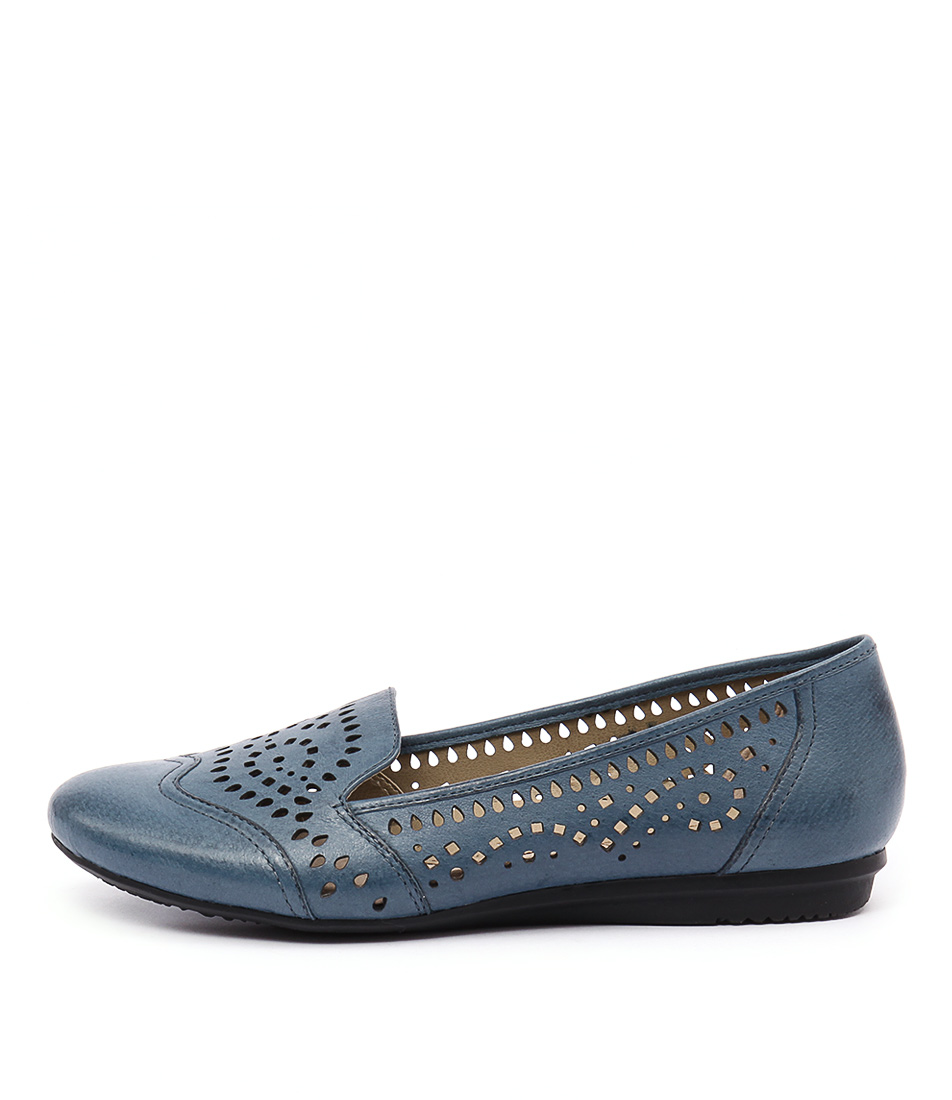 Planet Tiara Pl Blue Flat Shoes