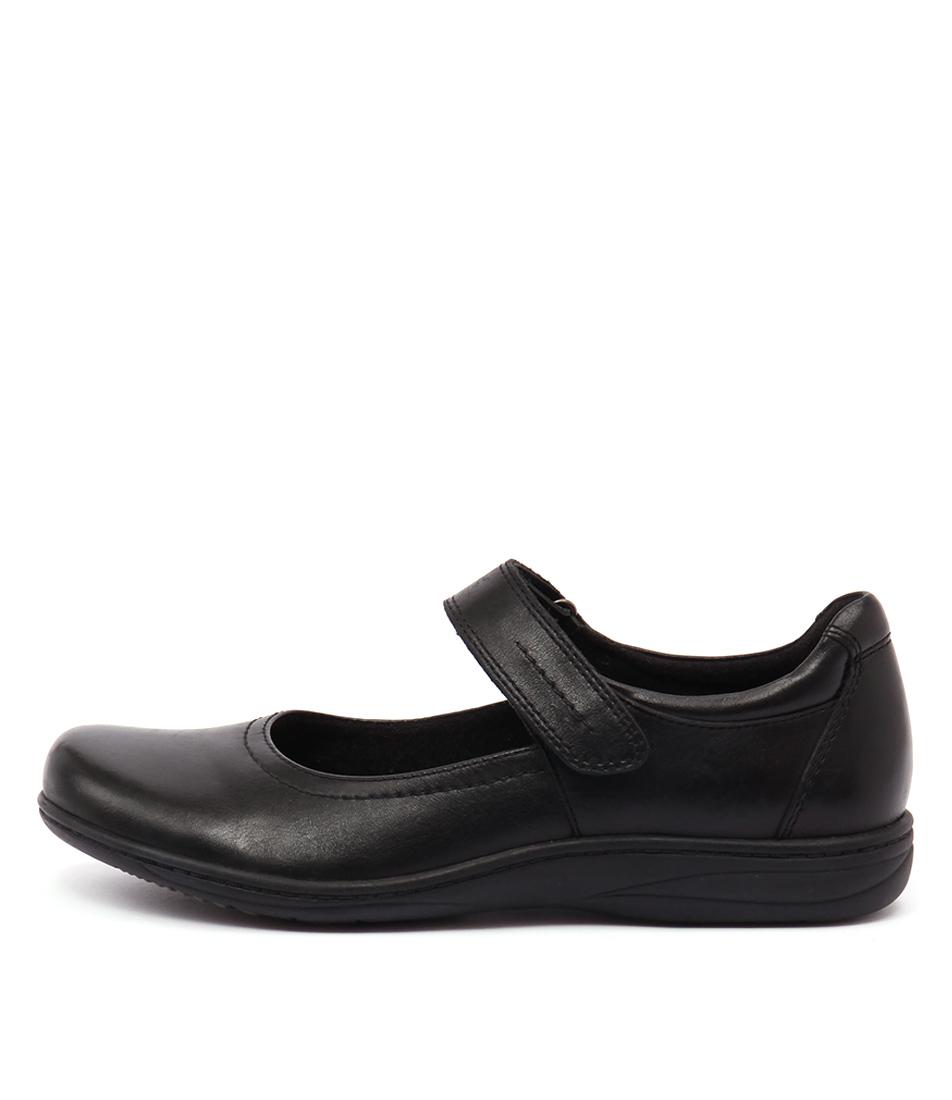 Planet Rebel Pl Black Flat Shoes