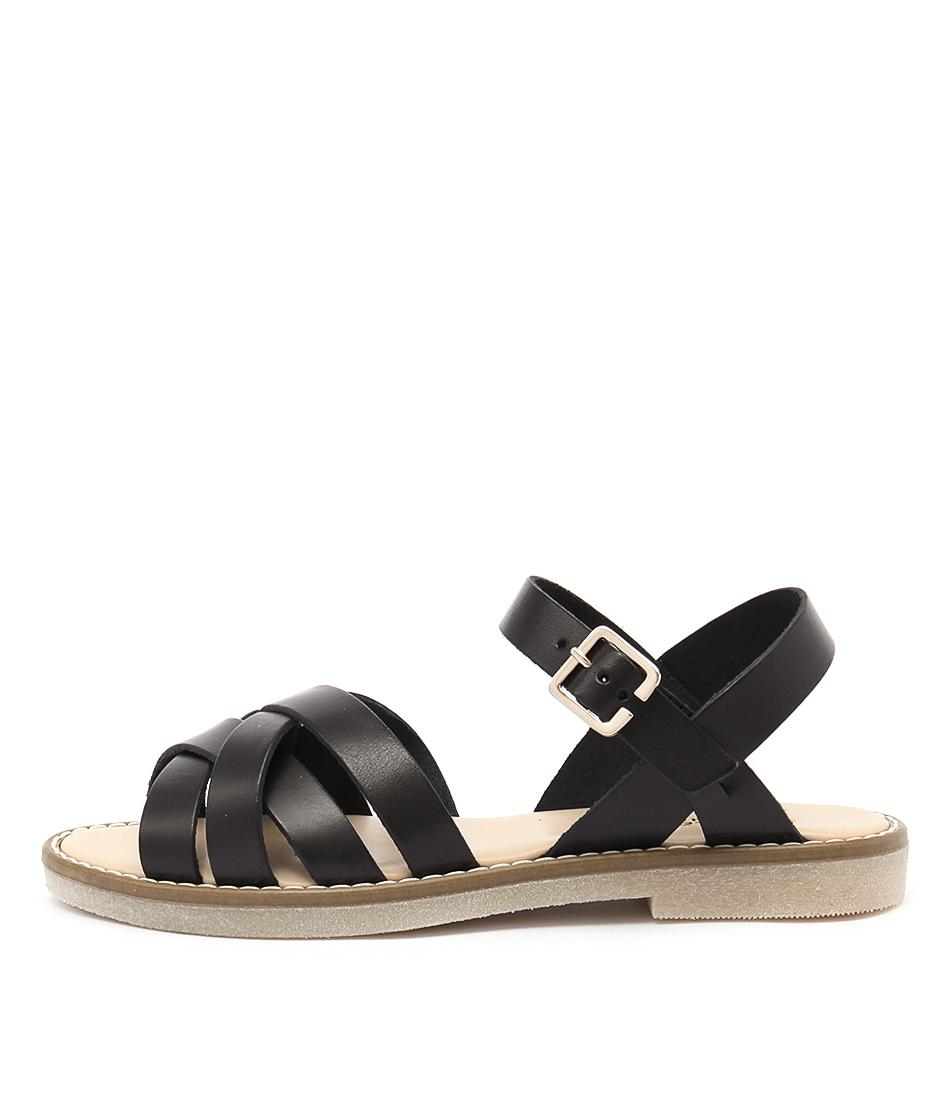 Planet Gina Pl Black Sandals