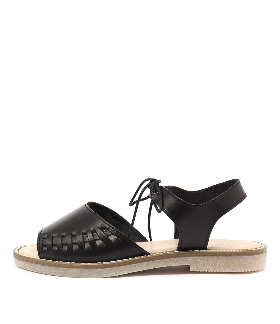 Planet Gisela Pl Black Sandals