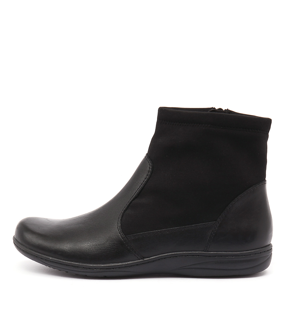 Planet Revel Pl Black Casual Ankle Boots