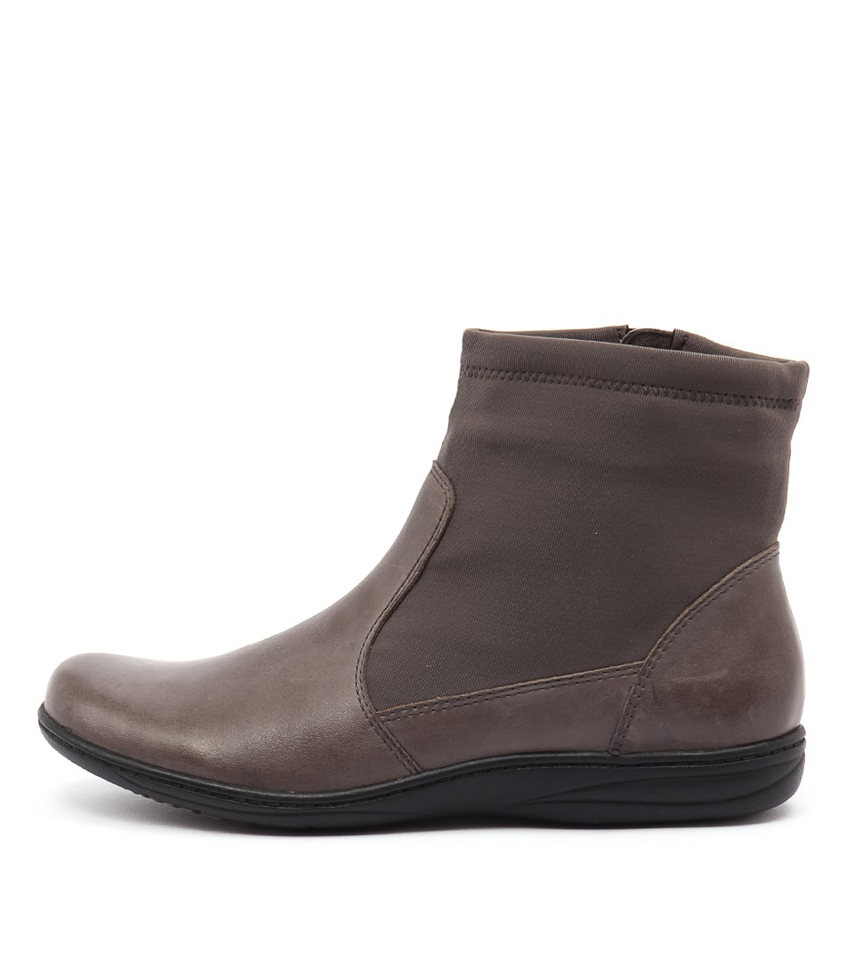 Planet Revel Pl Grey Ankle Boots