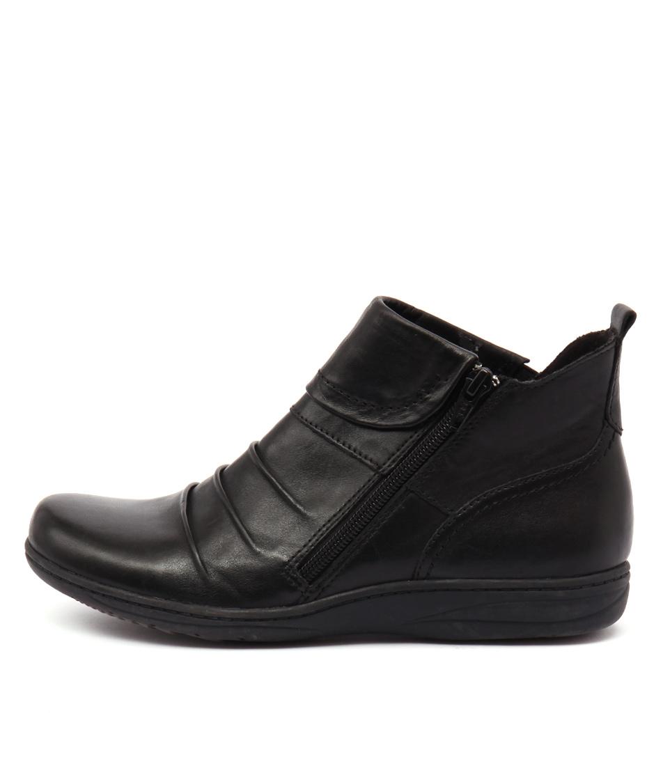 Planet Ripple Pl Black Boots