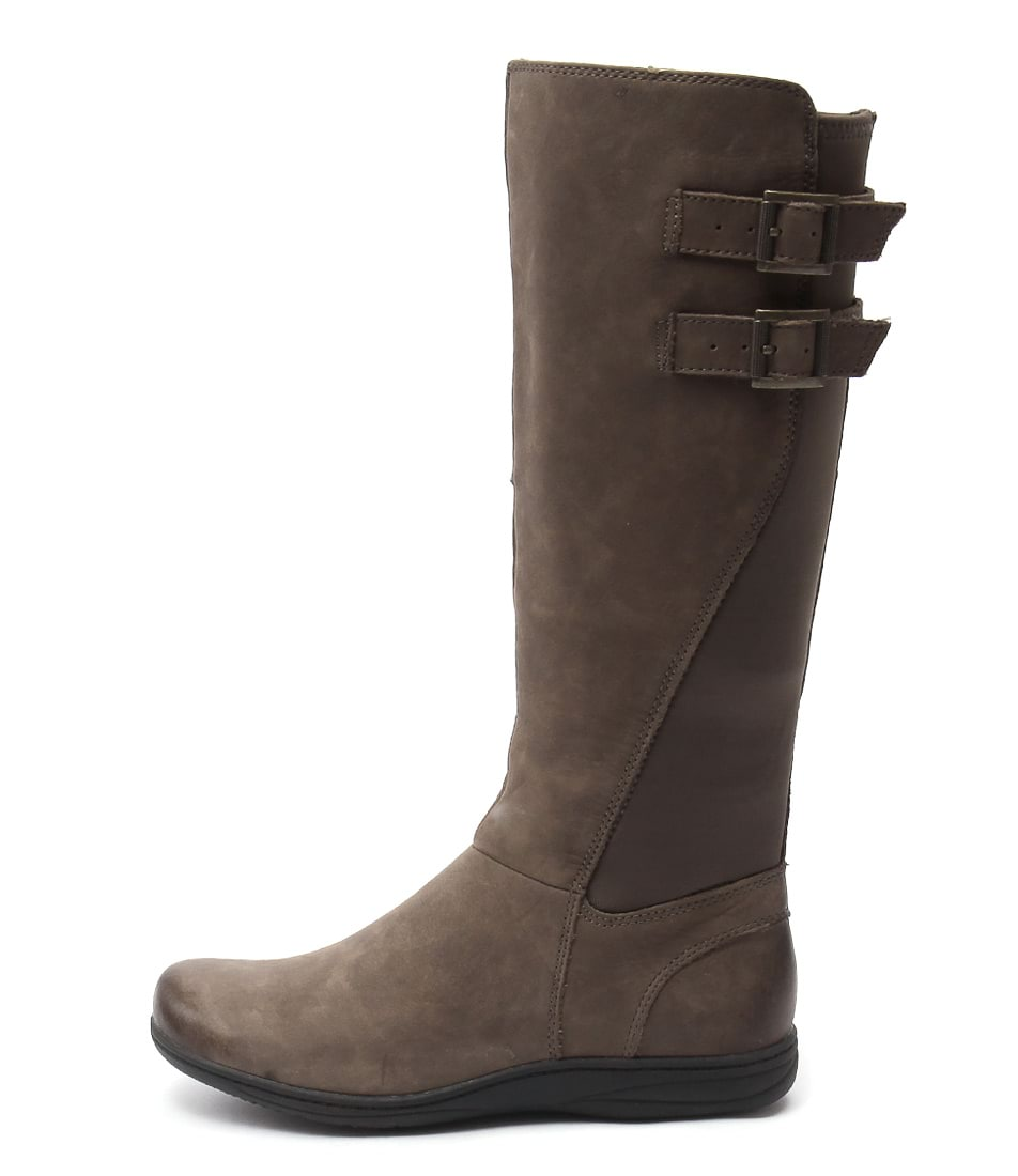 Planet Raise Taupe Casual Long Boots buy  online