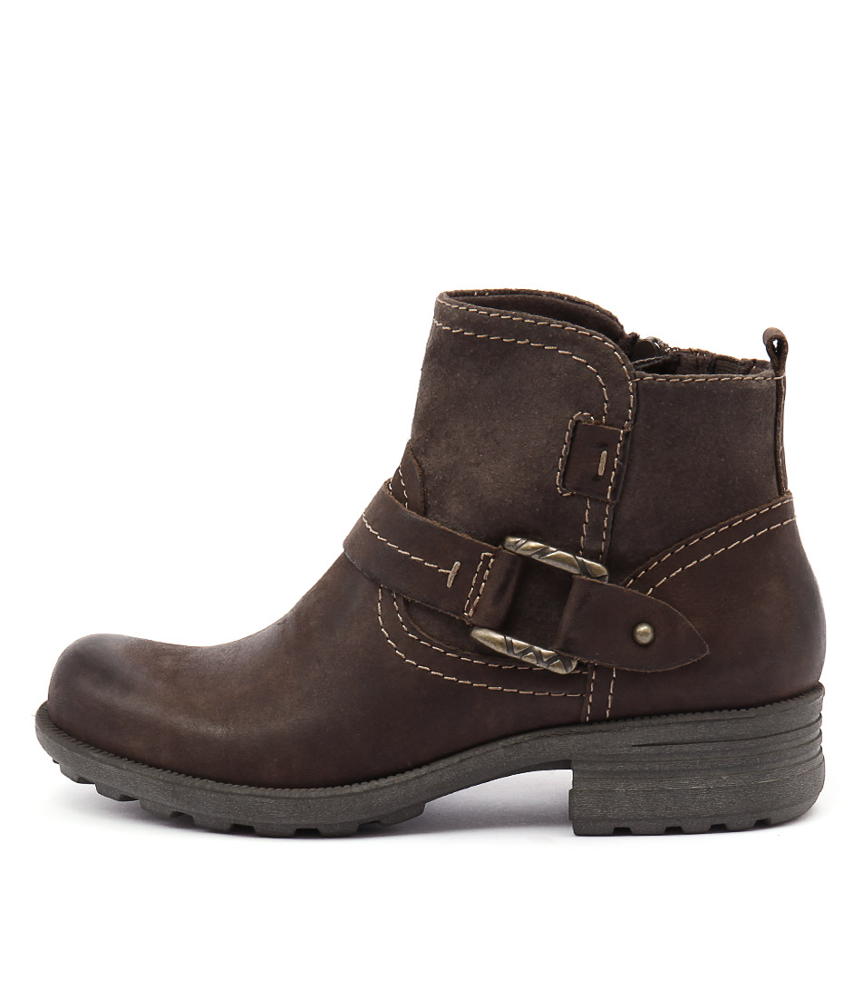 Planet Pale Stone Ankle Boots