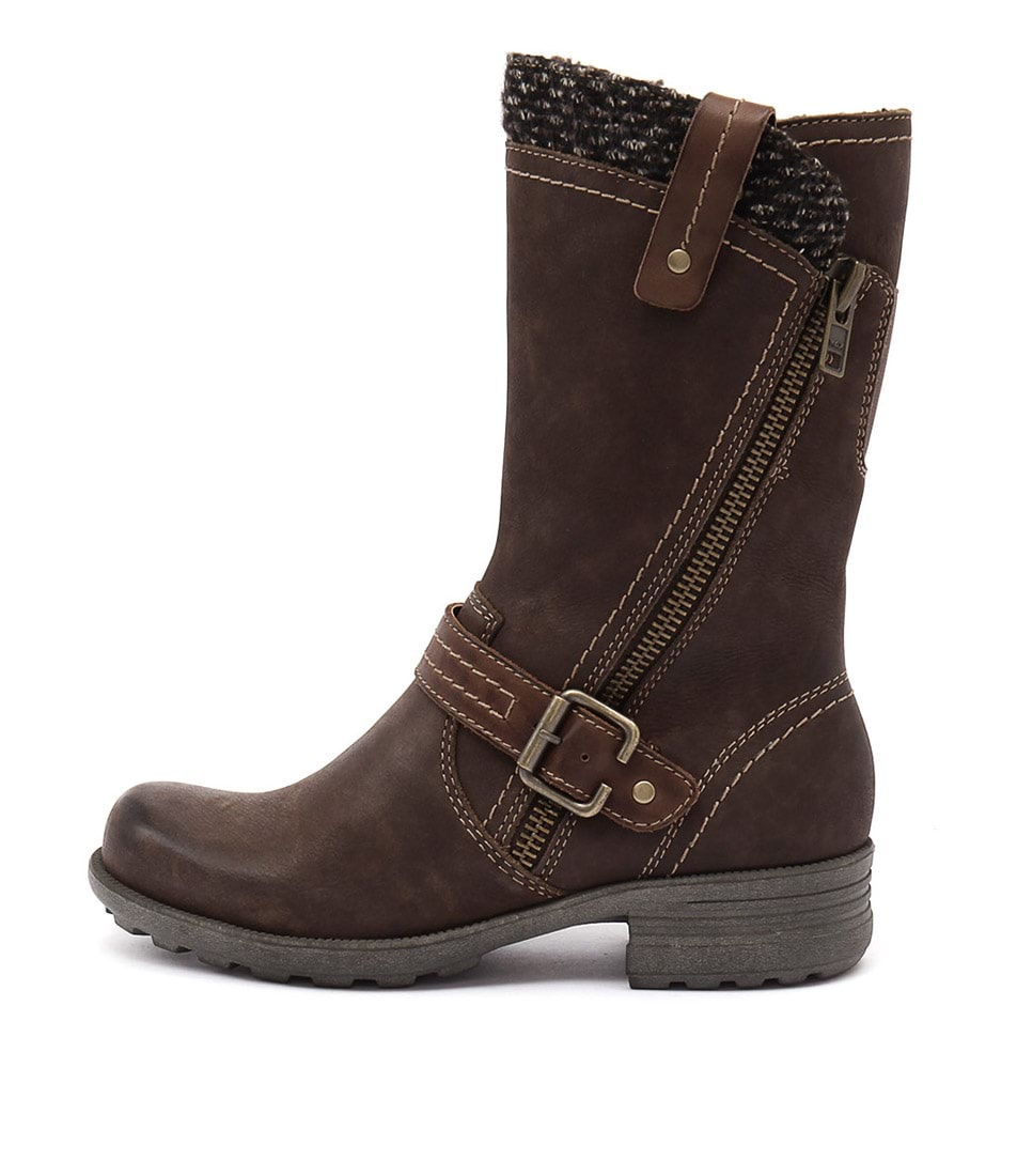 Planet Pugg Stone Casual Calf Boots