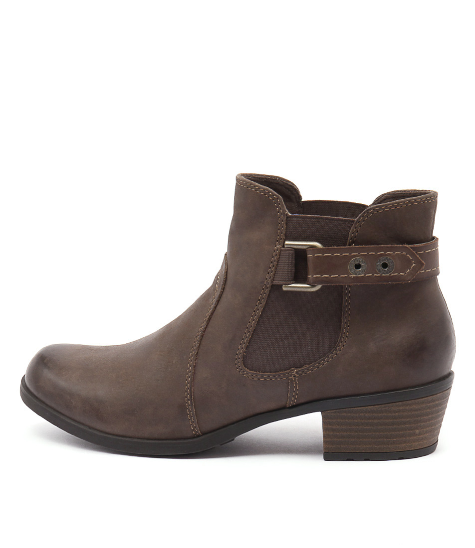 Planet Town Stone Ankle Boots