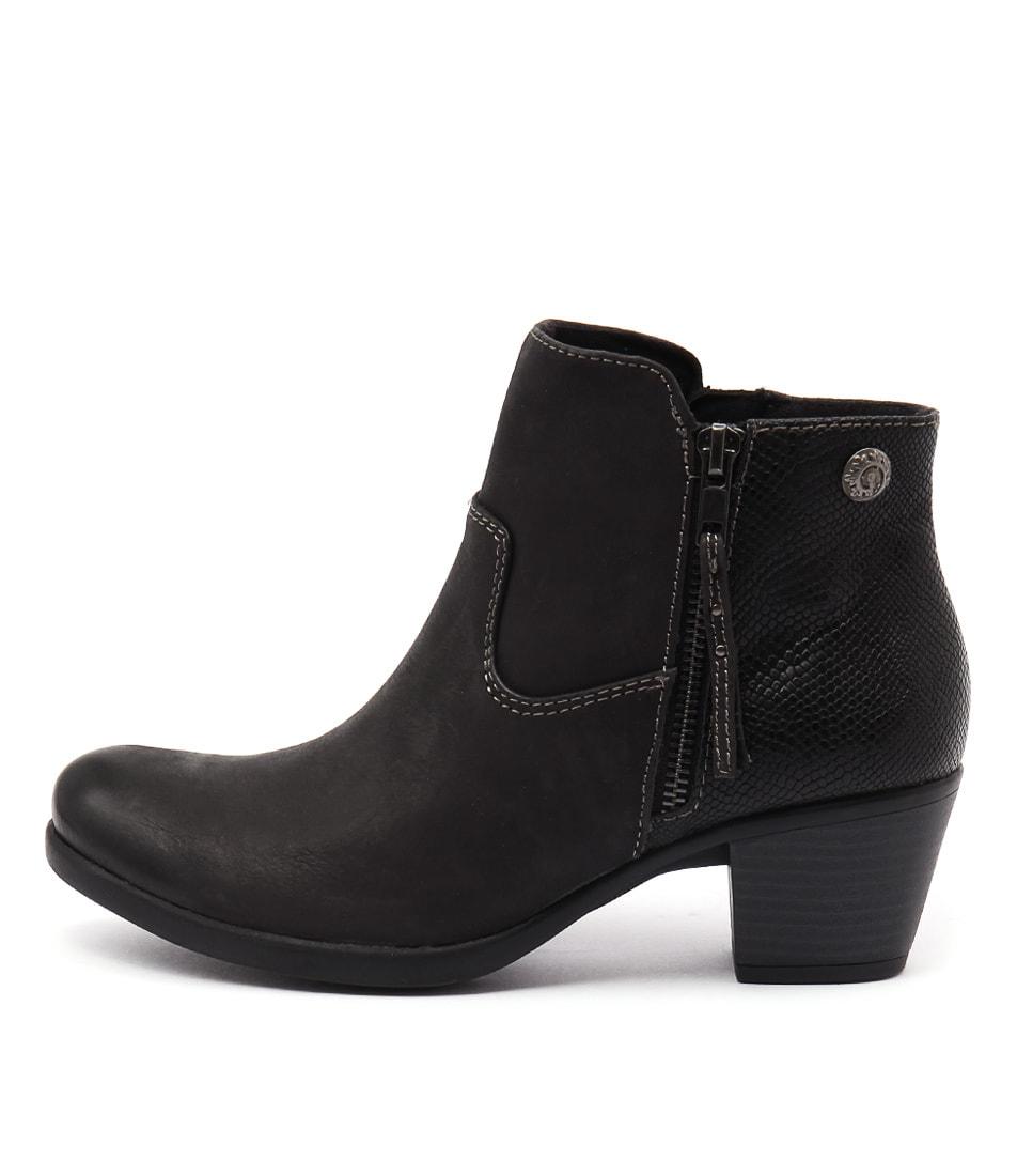 Planet Echo Black Boots