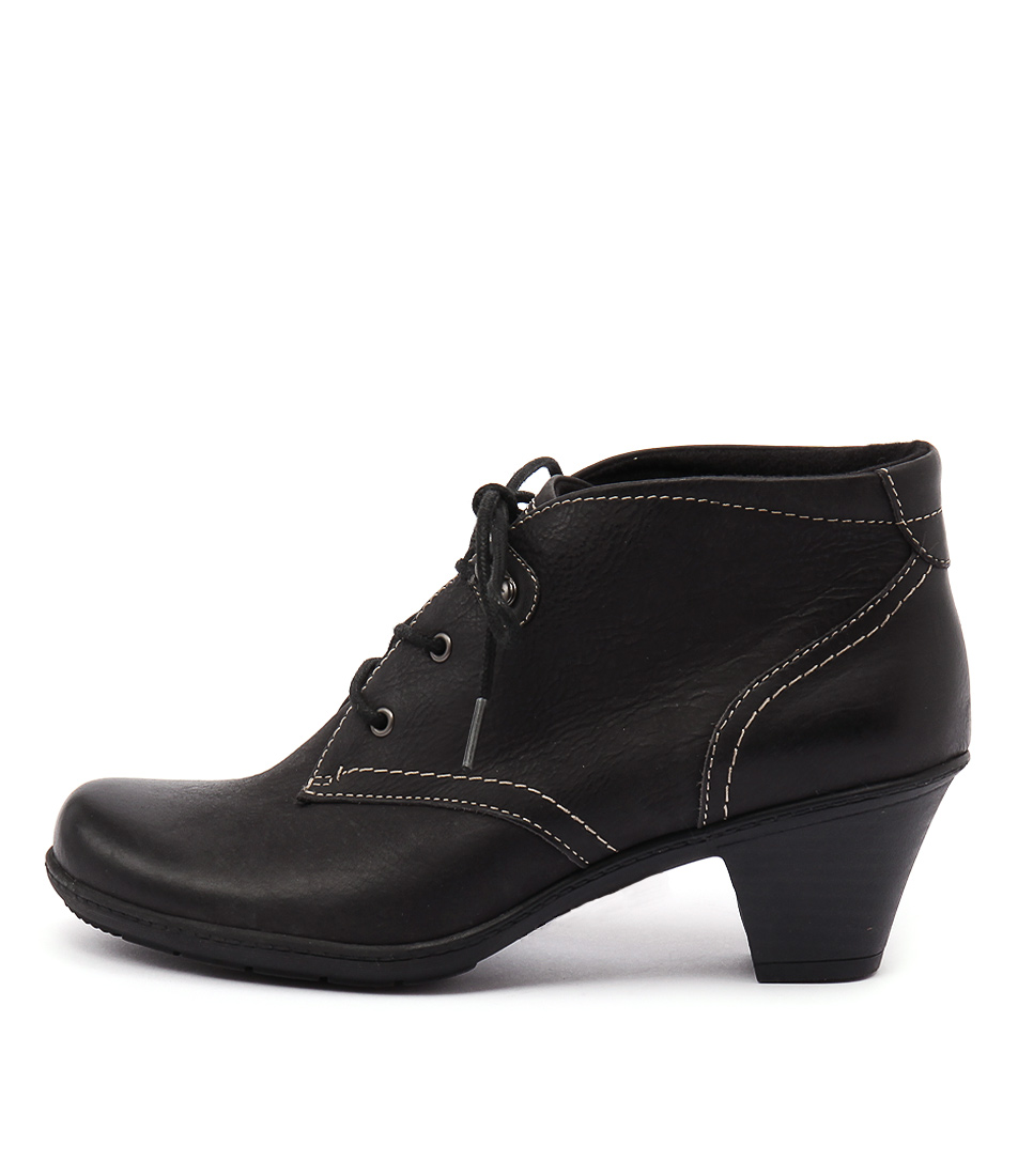 Planet Steam Black Casual Ankle Boots