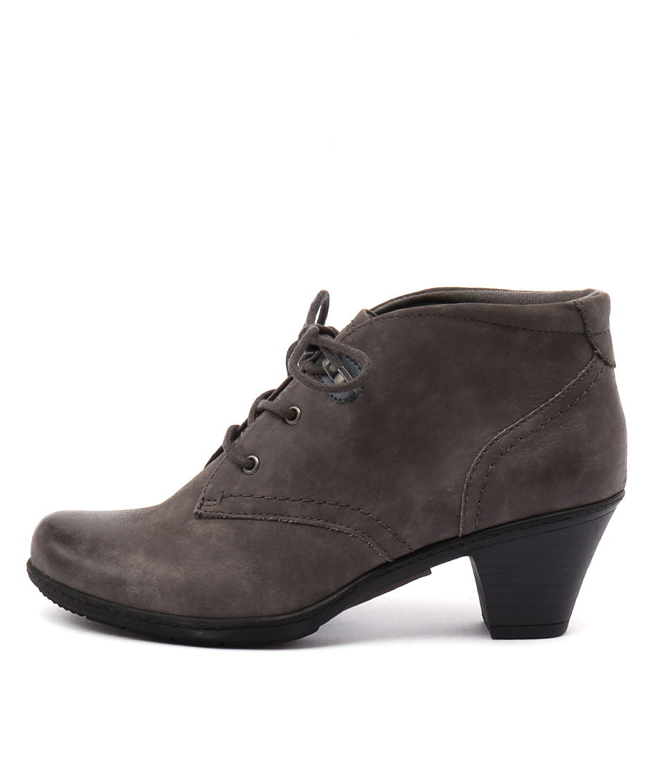Planet Steam Grey Casual Ankle Boots