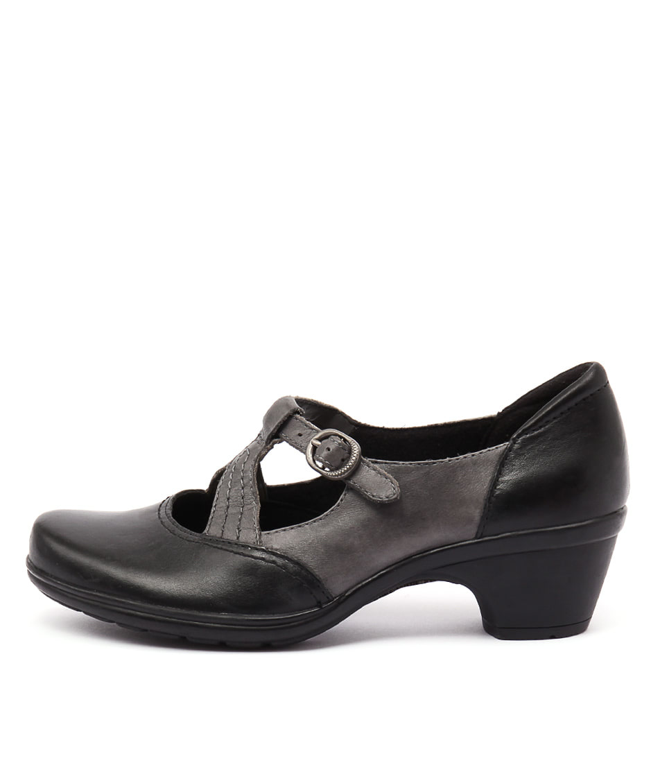 Planet Machi 2 Black Multi Casual Heeled Shoes