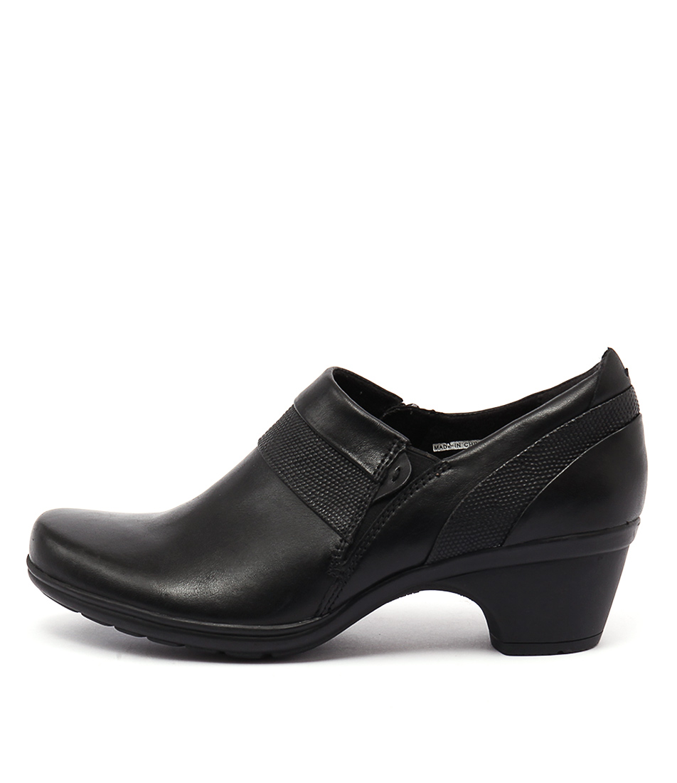 Planet Minnie Pl Black Casual Heeled Shoes