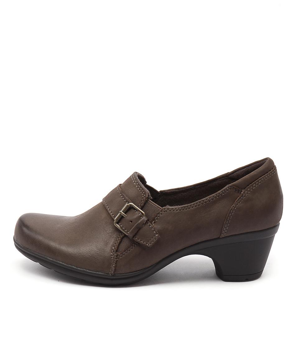 Planet Moocha Stone Heeled Shoes