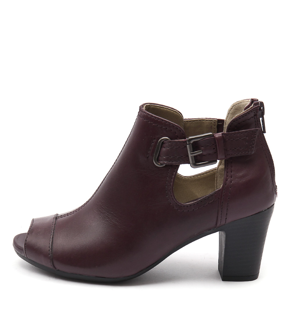 Planet Alice Pl Prune Ankle Boots