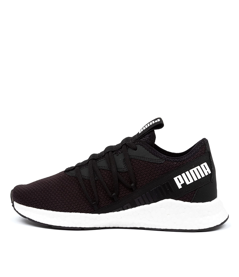 Buy Puma Nrgy Star Pm Black White Sneakers online with free shipping