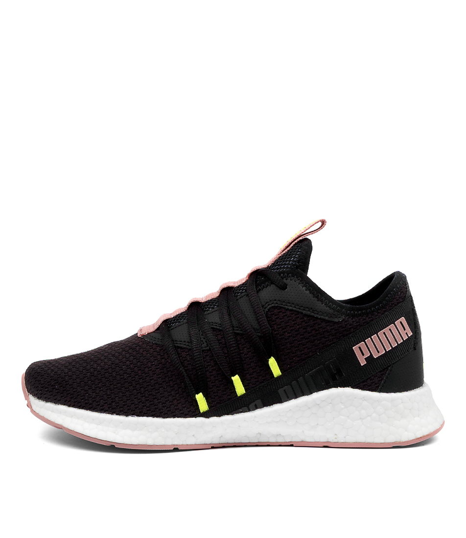 Buy Puma Nrgy Star Pm Black Rose Yellow Sneakers online with free shipping