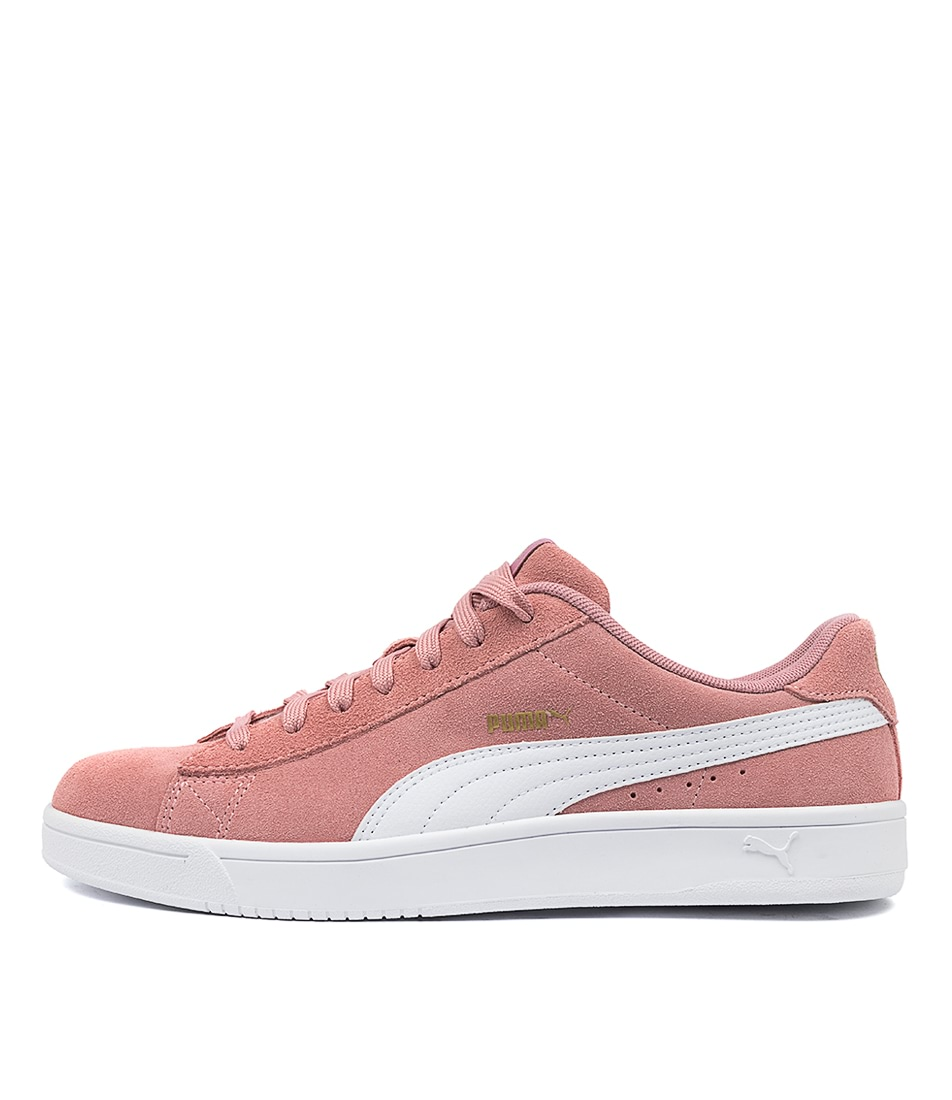 Buy Puma Court Breaker Derby Pm Rose White Gold Sneakers online with free shipping