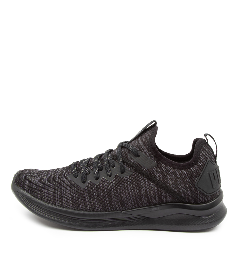 Buy Puma 190511 Ignite Flash Evo Wns Pm Black Sneakers online with free shipping