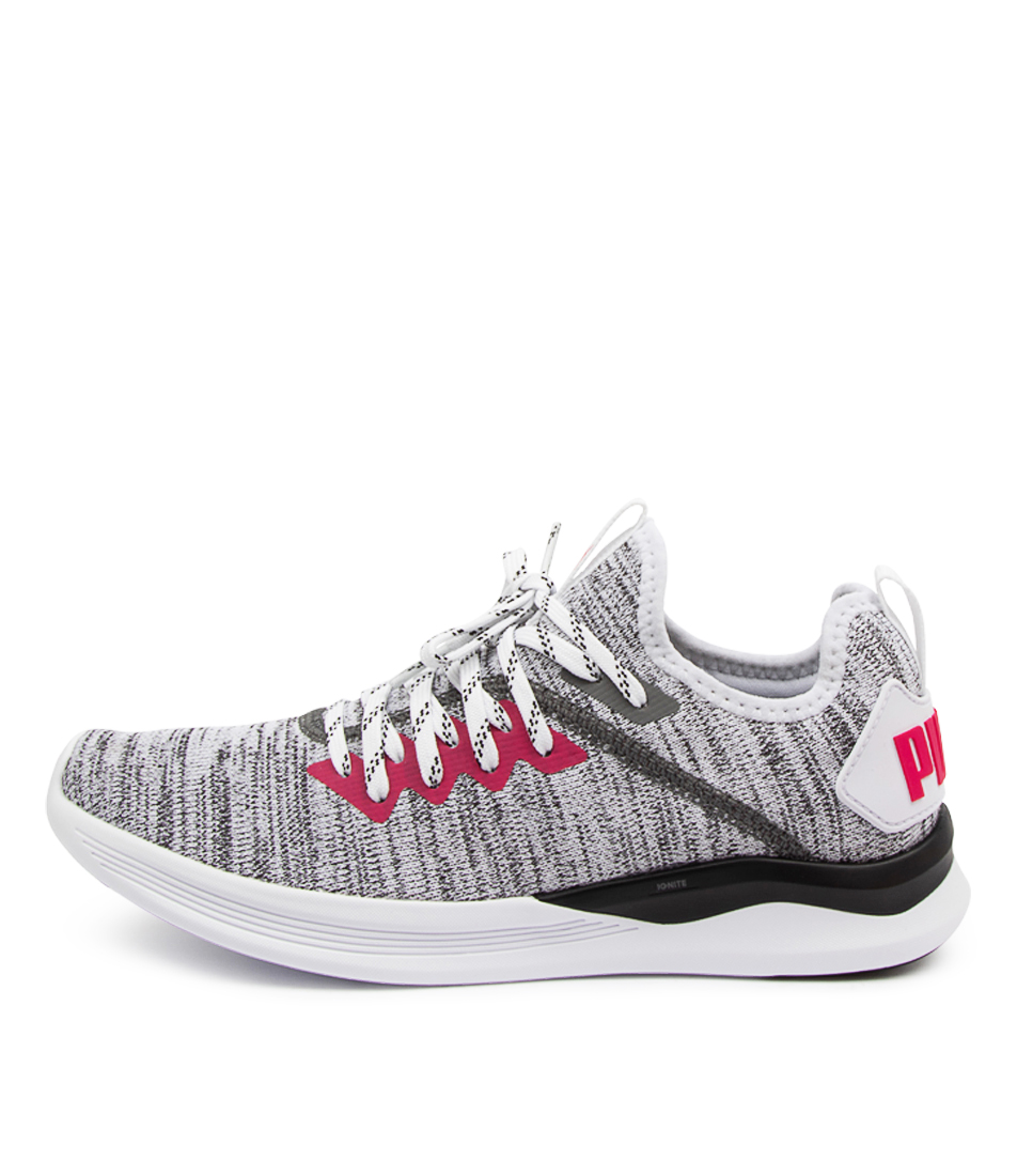 Buy Puma 190511 Ignite Flash Evo Wns Pm White Black Sneakers online with free shipping