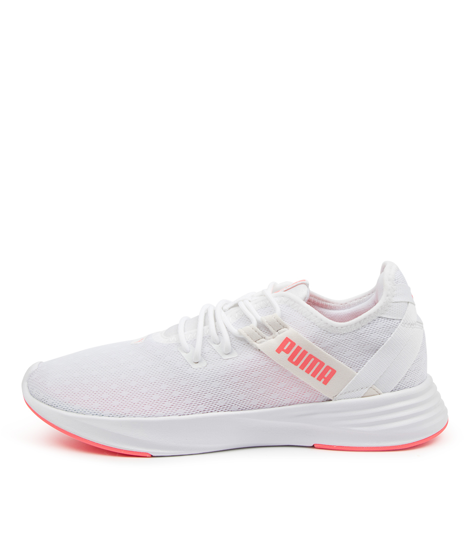 Buy Puma 192632 Radiate Xt Patt Wns Pm White Pink Sneakers online with free shipping