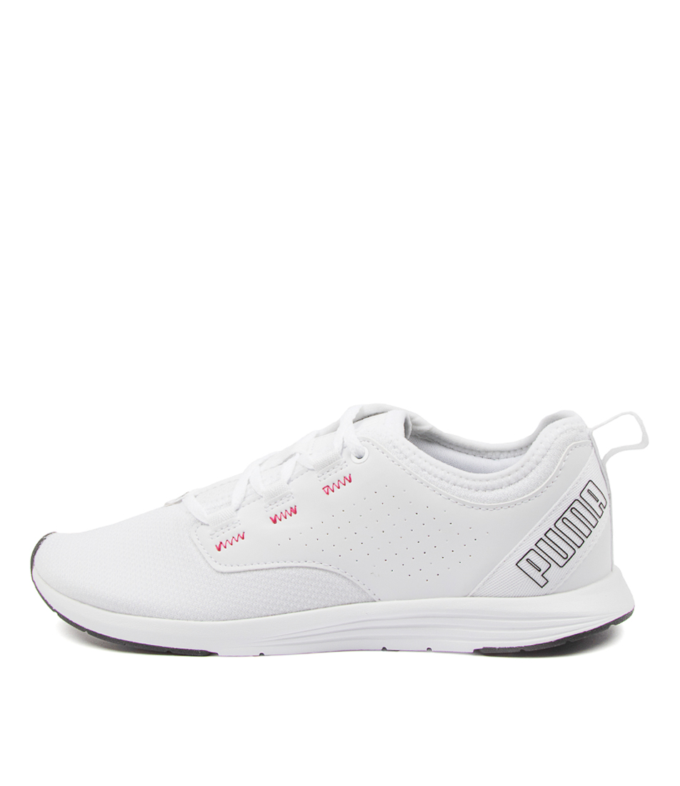 Buy Puma 193077 Ella Wns Pm White Pink Sneakers online with free shipping