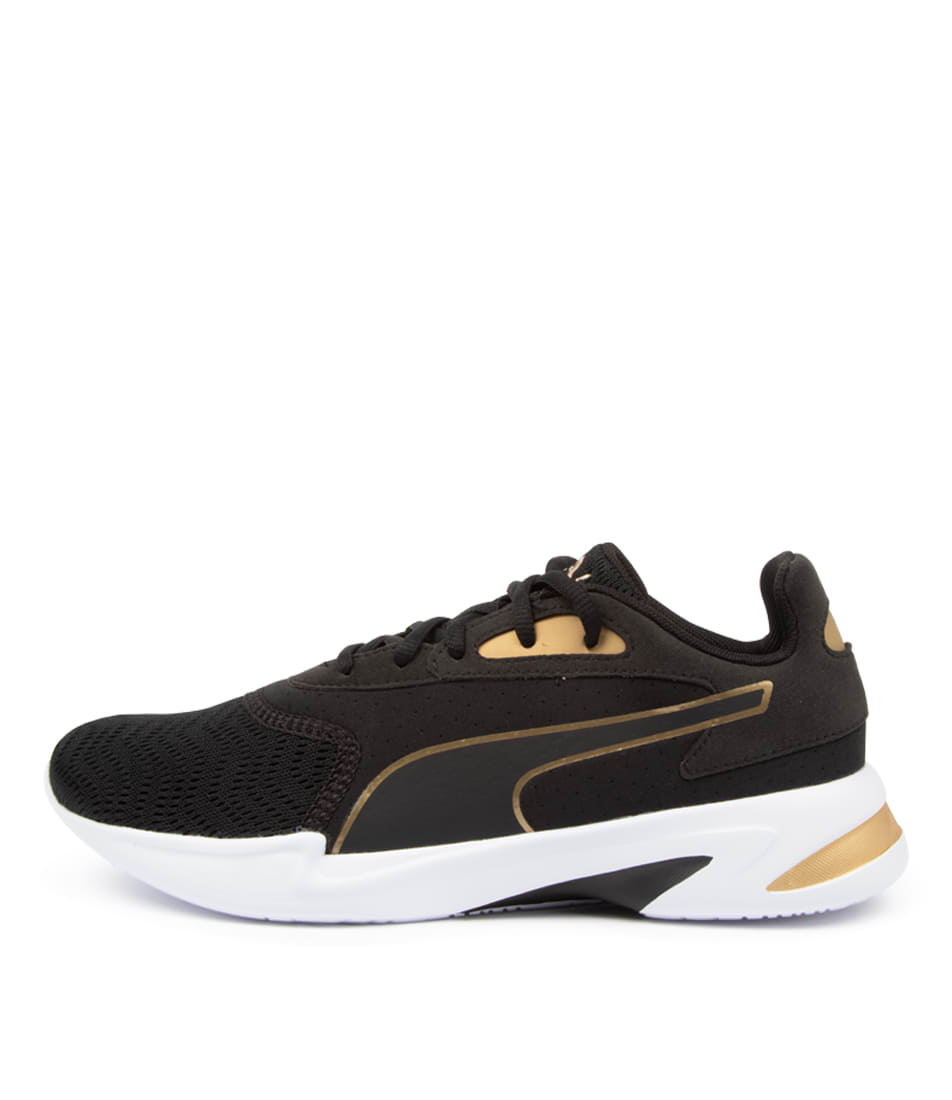 Buy Puma 193135 Jaro Metal Wns Pm Black Gold Sneakers online with free shipping