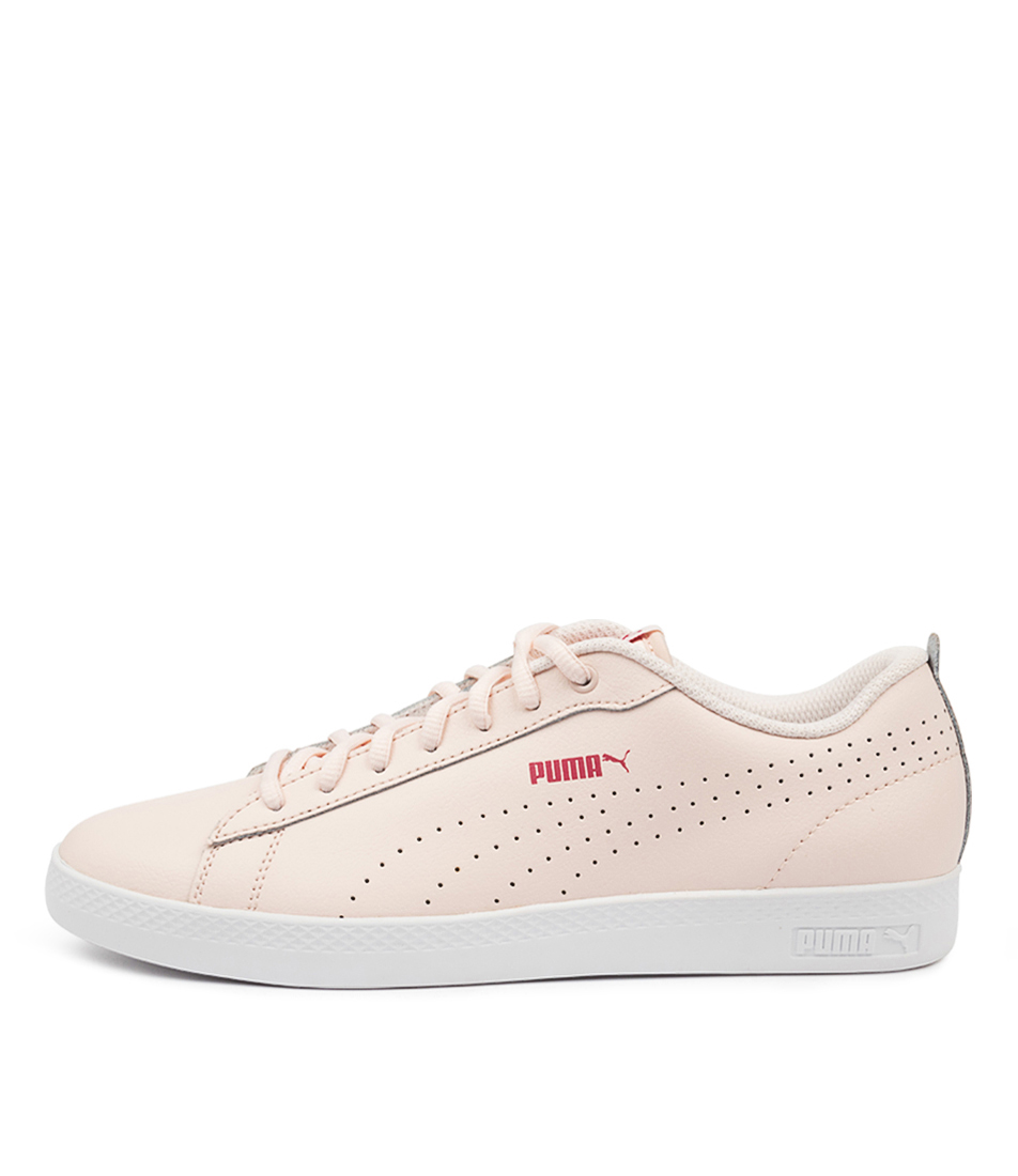 Buy Puma 365216 Smash Wns V2 L Perf Pm Rosewater Rose White Sneakers online with free shipping
