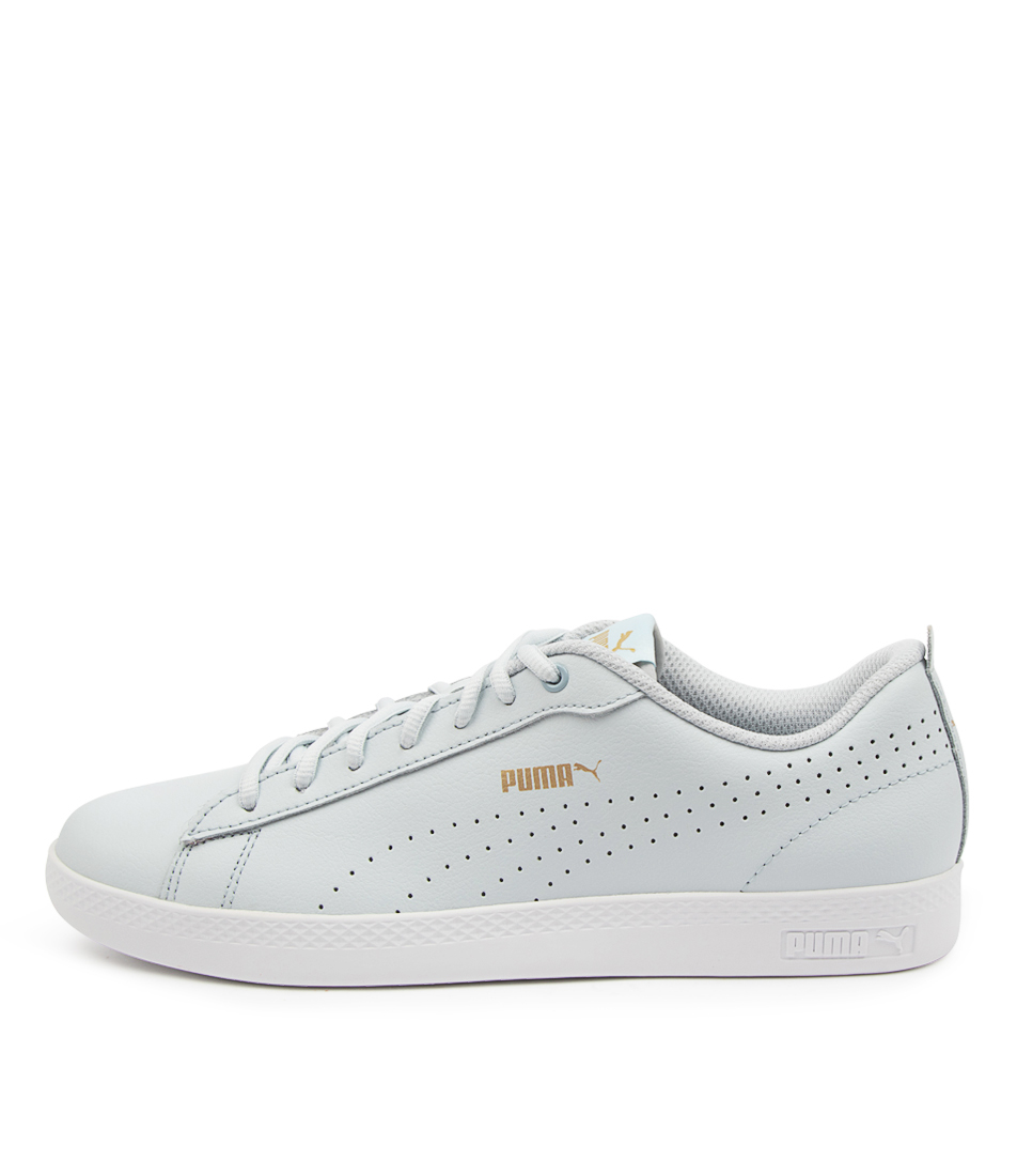 Buy Puma 365216 Smash Wns V2 L Perf Pm Plein Air Gold White Sneakers online with free shipping